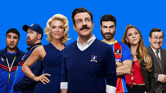 """Apple scores 35 Emmy nominations, including 20 for hit series """"Ted Lasso,"""" which makes Emmy history as the most nominated freshman comedy series ever (Declan Lowney)"""