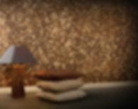 Мозайка из кокоса. Плинтус из композитного материала. Экополимер.