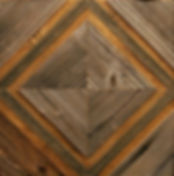 Панно из амбарной доски. Геометрическое панно. Старая доска. Эко стиль.