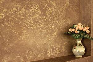 Декоративка. Декоративная штукатурка. Венецианка. Венецианская штукатурка под мрамор с перламутровым эффектом.