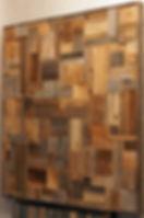 Панно из амбарной доски. Картина на стену. Старая доска. Хаос.