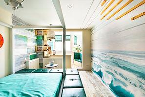 Фреска. Фотообои в спальню. Море.