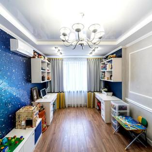 Фотообои в детской комнате.
