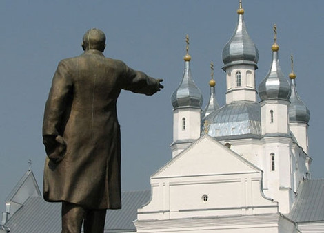 """В Коржах на Киевщине хотят продать Ленина """"на купола"""" для церкви"""