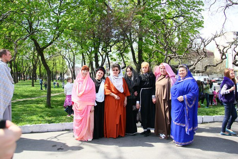 На Пасху сектанты кощунствовали в Одессе