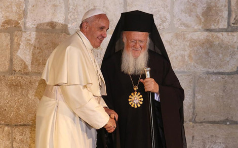 Греческая церковь пригласила папу Франциска и патриарха Варфоломея на Лесбос