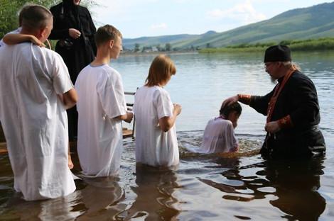 Массовые крещения в Забайкалье