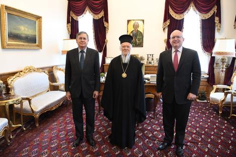 Два посла США посетили Вселенского патриарха в Стамбуле