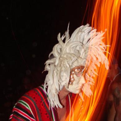 trancedance mask ritual