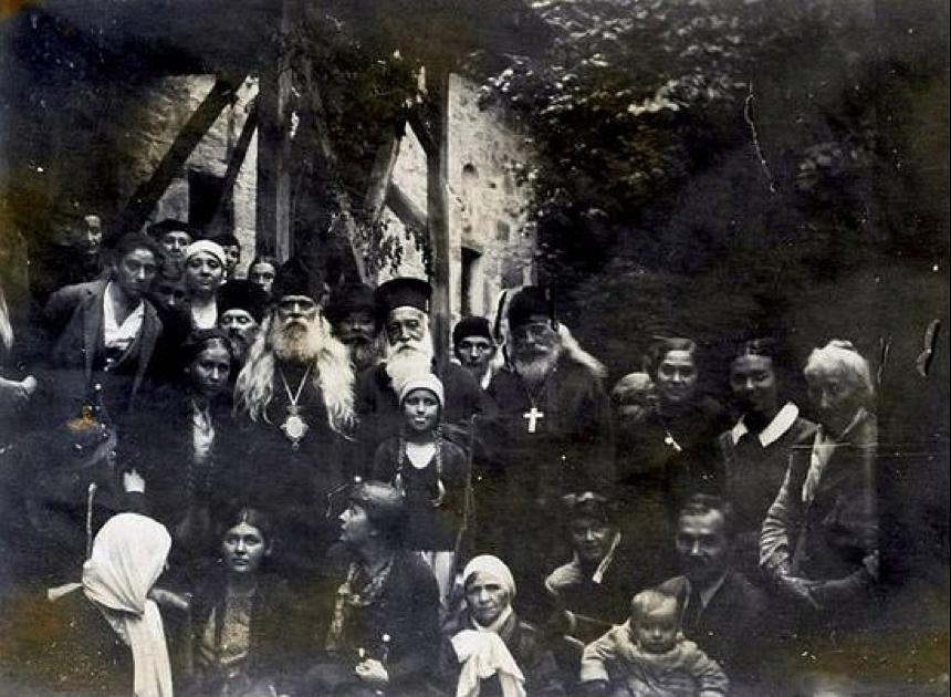 Архиепископ Серафим (Соболев) с веру