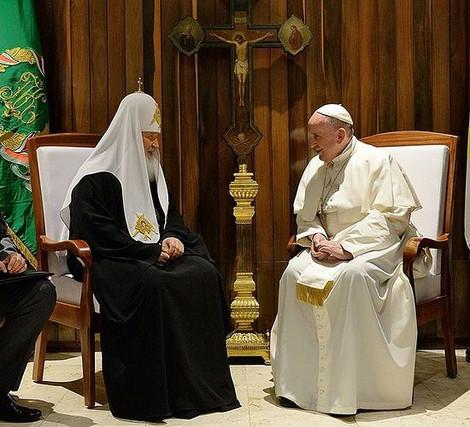 В Русской церкви просят критикующих патриарха за встречу с папой не сеять смуту