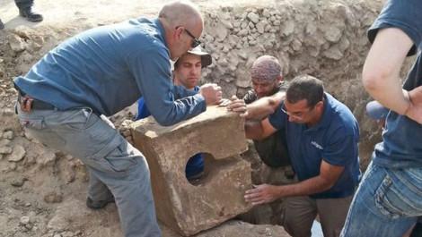 В ИЗРАИЛЕ НАЙДЕН ДРЕВНИЙ ТУАЛЕТ НА МЕСТЕ РАЗРУШЕННОГО ХРАМА