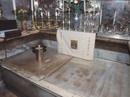Впервые с XVI века ученые сняли мраморную плиту с Ложа Христа в Гробе Господнем