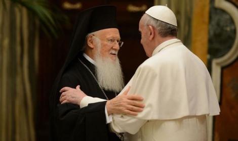 Вселенский Патриарх Варфоломей совершит совместный молебен с Папой Франциском в Константинополе