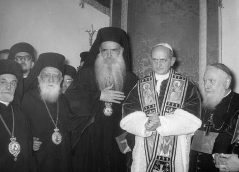 Где, как и когда встречались Римские Папы и Константинопольские Патриархи