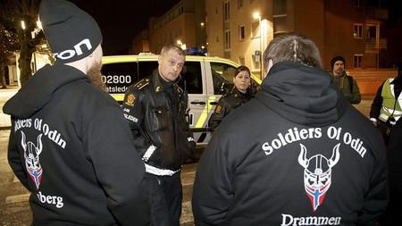 На улицах Норвегии - «патрули» Одина и Аллаха