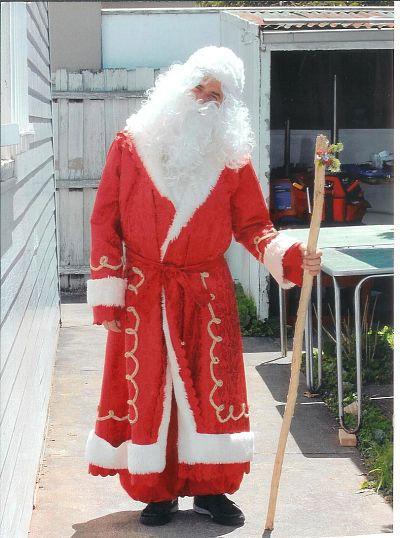 Сам Дедушка Мороз ...
