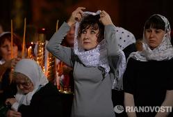 Опрос в Москве: более 90% верующих РПЦ не понимают язык богослужения