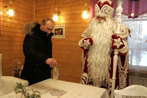 Дед Мороз взят под Российский государственный контроль