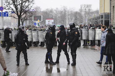 Молитвы о протестующих в Беларуси