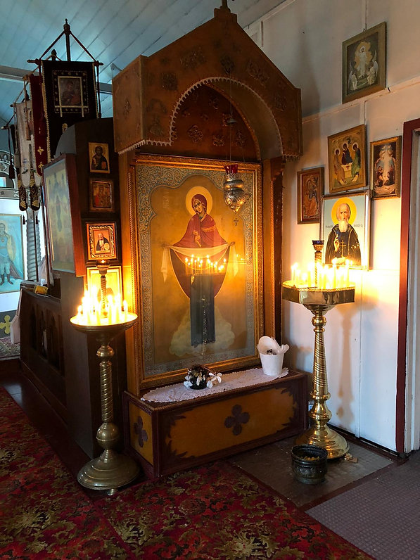Икона Покрова Божией Матери. 16 августа