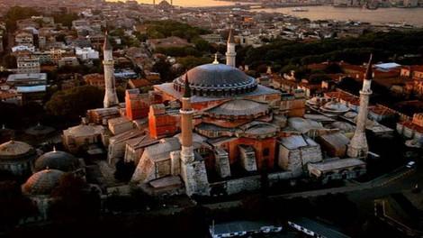 Турки вновь сквернят Святую Софию