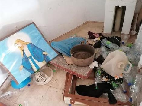 Мигранты разрушили церковь святого Георгия на острове Лесбос