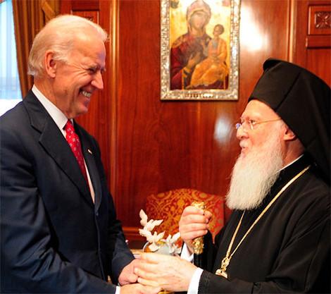Вселенский Патриарх Варфоломей поздравил Байдена с победой на выборах