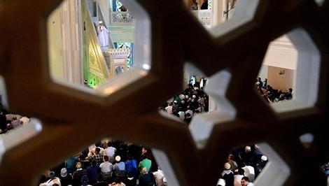 В мечети подрались два имама