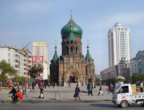 Православные паломники из Китая в Москве