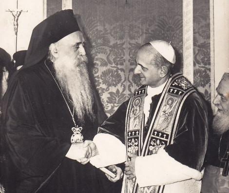 Патриарх Варфоломей напомнил о 50-летии исторической встречи Патриарха Афинагора и Папы Павла VI
