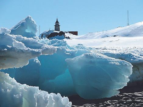 Рядом с нами. Крещение в Антарктиде