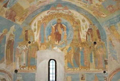 В Ферапонтовом монастыре ведутся работы по оцифровке уникальных фресок Дионисия