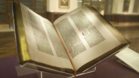 Самую старую печатную книгу – Библию Гутенберга – представят в Минске