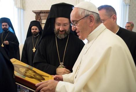 """Папа Франциск заявил о """"глубоком созвучии"""" своих взглядов с Патриархом Варфоломеем"""