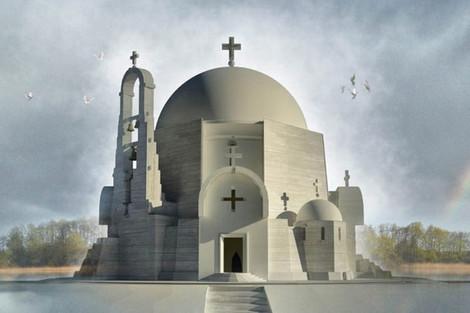 В Беларуси появятся православные храмы в стиле модернизма
