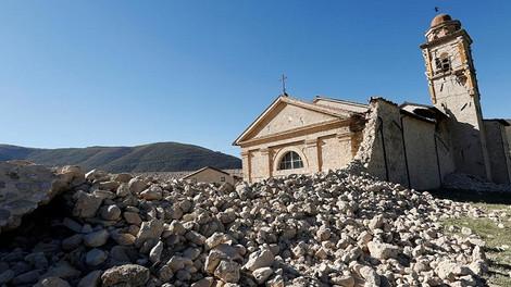 Италия намерена восстановить все церкви, разрушенные 30 октября