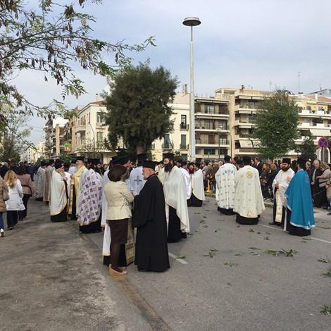 Принесение мощей святителя Луки в Патры