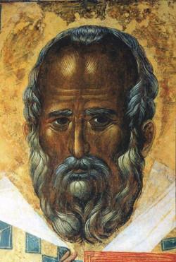 Старинная икона святителя Николая