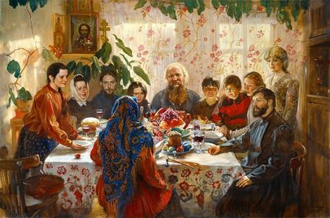 Как праздновали Пасху на Руси