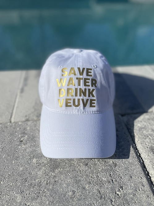 Save Water Drink Veuve