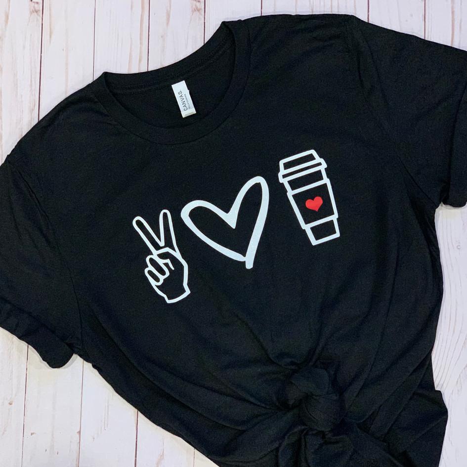 Peace, Love, Coffee