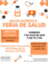 f.ver [spanish] SALUD 2019 Health Fair #