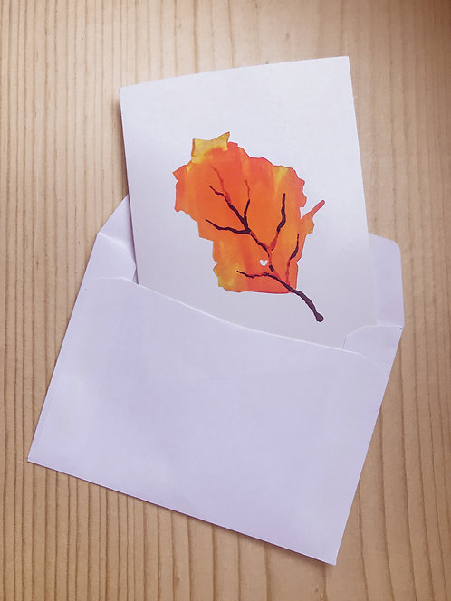 Autumn in Wisconsin Greeting Card