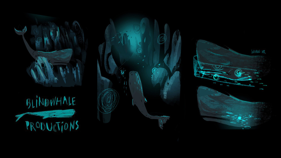 Concept Sketches for Blindwhale Productions