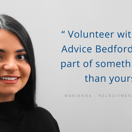 Volunteering: A Client Success Story
