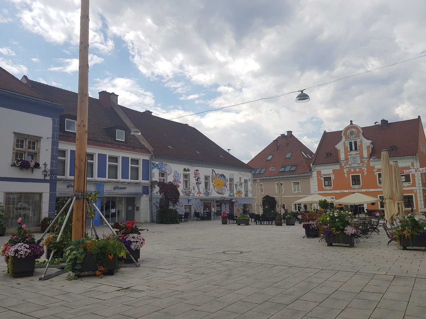 The Main Square in Kapfenberg