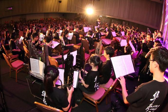 2014大红花国际茶&文化展 华乐大汇演收入捐助11学校