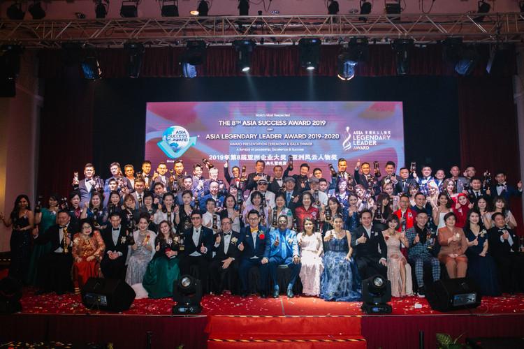 Asia Success Award n ALLA Group Photo