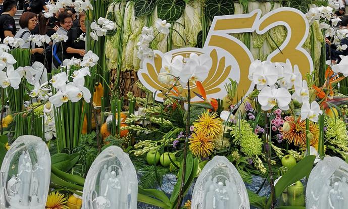 慈济浴佛兼三节合一庆典 逾3400人及外国大使出席